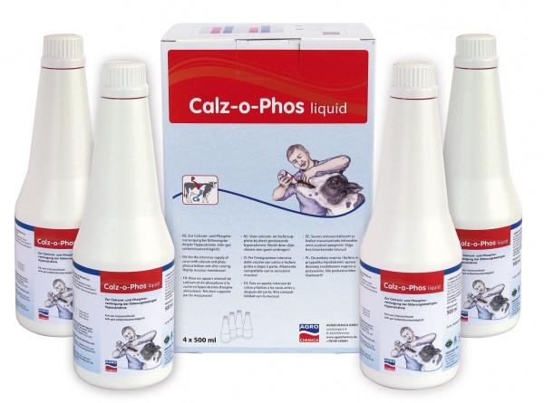 Calz-o-Phos Liquid zur intensiv Versorgung 4 x 500 ml