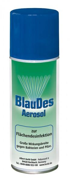 BlauDes, blaues Desinfektionsmittel gegen Bakterien, Viren und Pilze, Spraydose