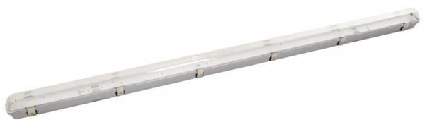 Feuchtraum-Wannenleuchte für LED-Röhren, ausschließlich geeignet für T8 LED-Röhren