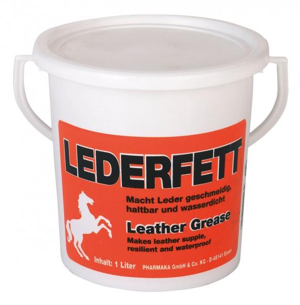 Lederfett, macht Leder bei regelmäßiger Anwendung geschmeidig, haltbar und wasserdicht