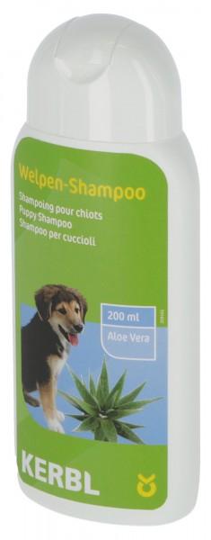 Welpen-Shampoo mit Aloe Vera besonders sanft zu Haut und Fell