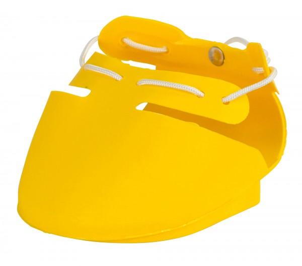 Klauenschuh SHOOF in verschiedenen Ausführungen, gelb, aus strapazierfähigem, haltbarem Polyurethan