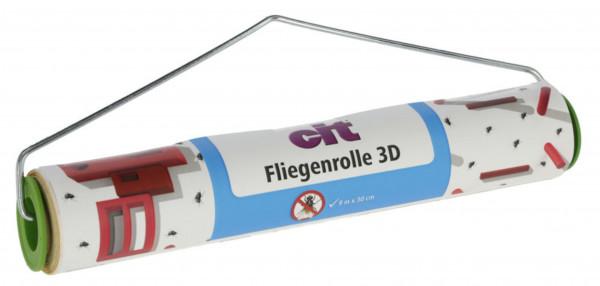 cit Fliegenrolle 3D, Klebefänger für den Stall mit erhöhter Lockwirkung