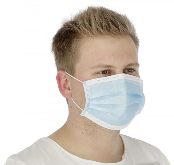 Mund-Nasen-Schutz, leichte Hygienemaske zum Schutz vor Staub und Tröpfchen