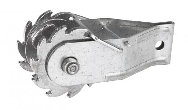 Zahnrad - Drahtspanner für Weidezaunseile, -litzen und Drähte geeignet