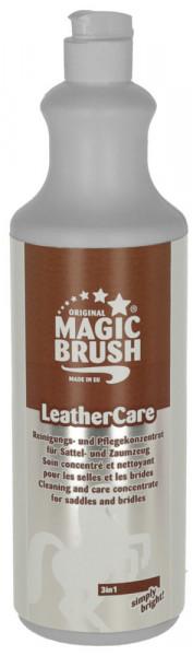 MagicBrush Lederpflege 3in1: ein Produkt, drei Wirkungen - reinigen, pflegen und fetten!, 1000 ml