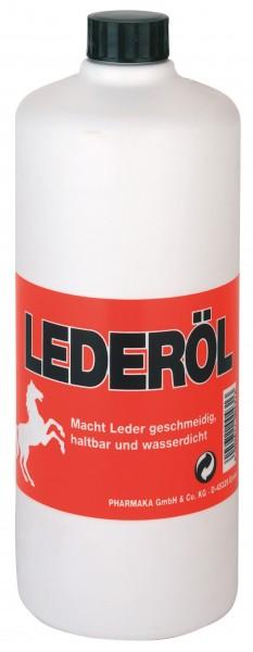 Euro-Lederöl zur Pflege alle Lederwaren aus Glattleder, mit 500 ml und 1000 ml Inhalt erhältlich