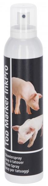 Tätowierspray, hochwertige schwarze Tätowiertusche in Sprayform, 300 ml