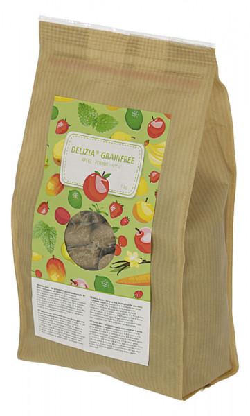 Delizia Belohnungswürfel GrainFree, die gesunde Belohnung für Ihr Pferd, 1 kg Apfelgeschmack