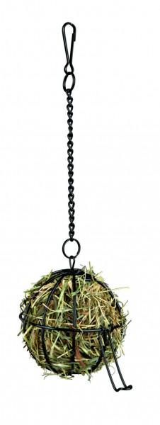 Futterball aus Metall zum Bestücken mit Heu, Salat und andere Leckereien