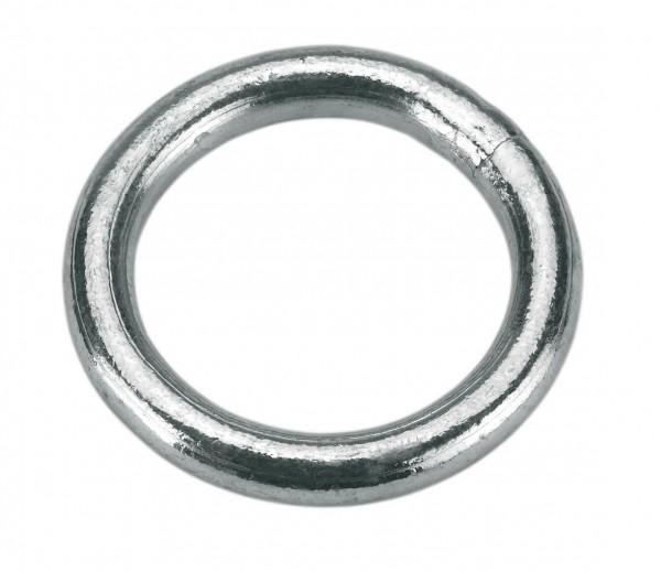 Ring verzinkt für Anbindungen in verschiedenen Stärken und Durchmesser