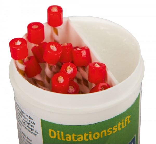 Dilatationsstift 20 Stück in der Dose hilft Zitzenkanalverengungen vorzubeugen