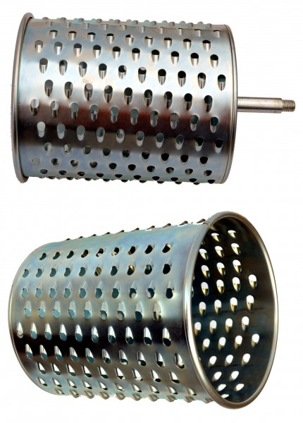 """Ersatzwalze """"fein"""" für die Rübenmühle Tischgerät, Schneidwalze aus Stahl"""