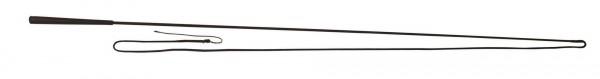 Longierpeitschen aus Fiberglas, umflochten und mit Nylonschlag, 180 cm