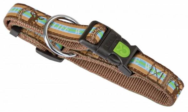 Nylon-Halsband Wild Life aus der trendigen Serie Wild Life