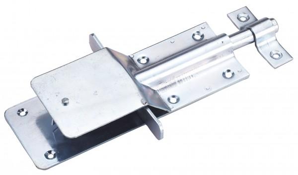 Stallriegel mit Schnappverschluss, verzinkt, für Türen, Tore, Gatter etc.