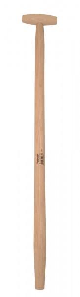 Spatenstiel aus Eschenholz, T-Form mit Durchmesser ca. 38/ 41 mm