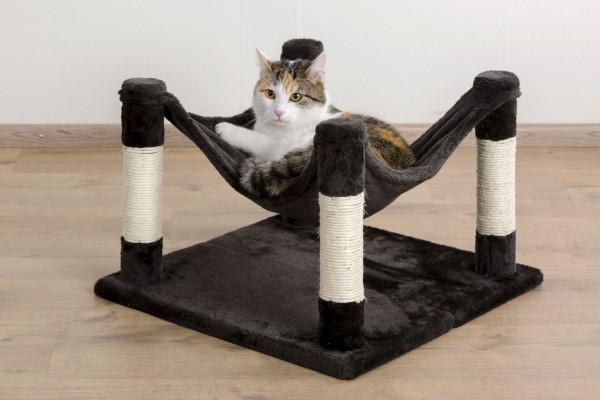 Kuschelige Hängematte für Katzen und kleine Hunde, kuschelige Matte aus weichem Plüsch