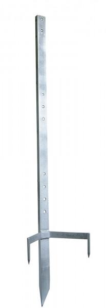 Multipfahl, Metallpfahl, die ideale Lösung für Ecken, Tore und zur Haspelbefestigung
