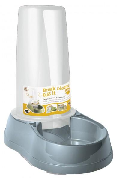 Wasser- und Futterautomat mit 650 ml Inhalt, leicht zu reinigen