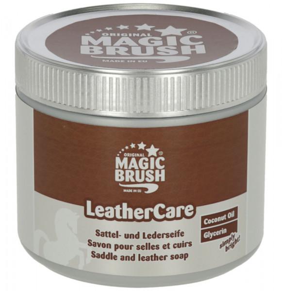 MagicBrush Sattel- und Lederseife für Glatt-, Rau- und Nubukleder, 500 ml