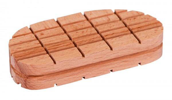 Holzklotz Standard für Technovit oder Technobase, 112 mm