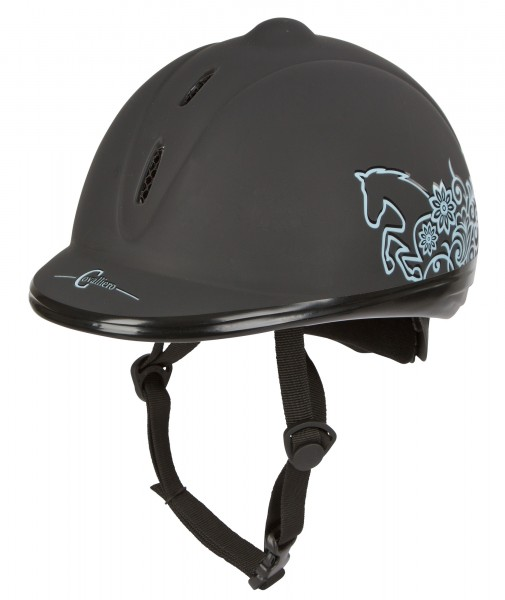 Reithelm Beauty für Kinder mit schlanker Helmform