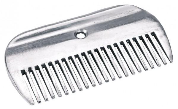 Mähnenkamm aus Aluminium mit einer Länge von 10 cm