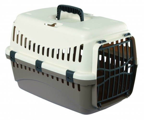 Transportbox in der Farbe creme/ taupe