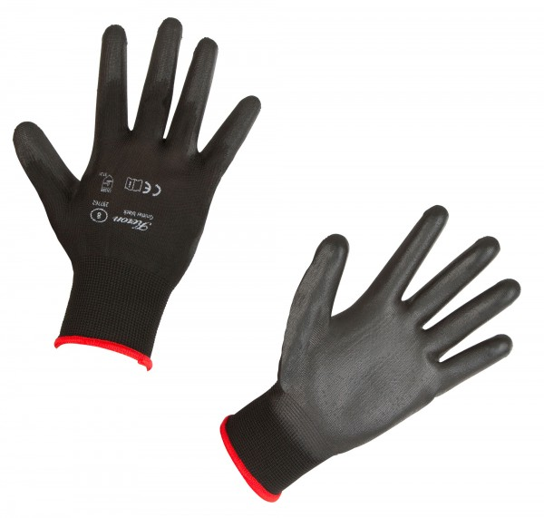 Feinmechaniker-Handschuh Gnitter Black mit sehr gutem Tastempfinden dank einer super Passform