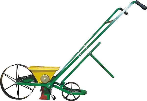 Dippelmaschine, einreihige Sämaschine zum Dibbeln von Saatgut
