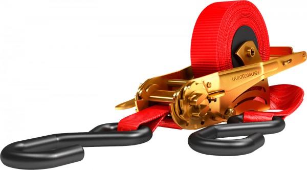 Quickloader Automatik-Zurrgurte, patentierte und TÜV-zertifizierte Neuentwicklung
