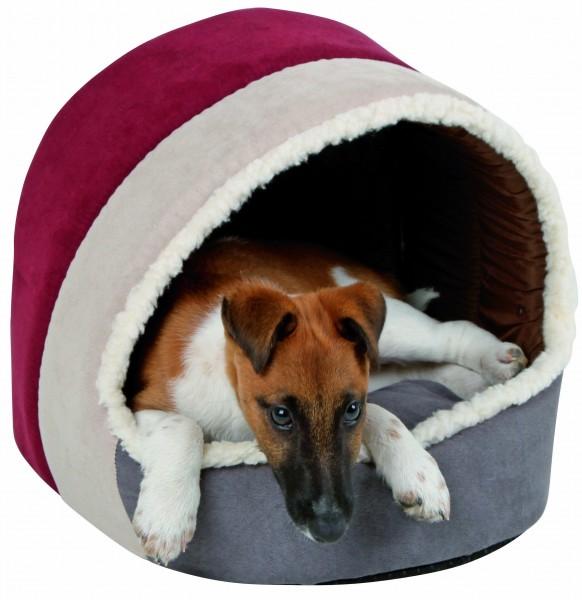 Kuschelhöhle Amelie mit Wendekissen für Hunde