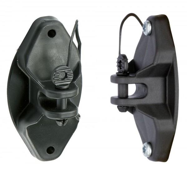 Isolator Pinlock äußerst robuster Isolator für Elektroseile bis 8 mm, Litzen und Stahldraht