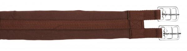 Sattelgurt aus Baumwollmaterial mit Verstärkung und stabilen Schnallen
