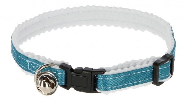 Halsband mit Glöckchen und Sicherheitsverschluss, Farbe blau