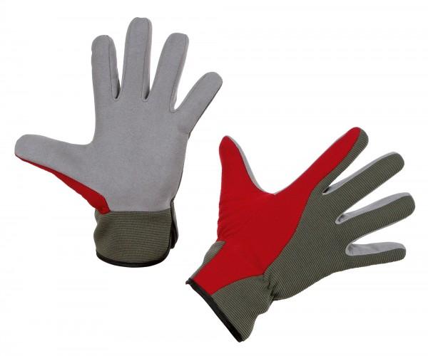 Gartenhandschuh Aventex aus weicher Mikrofaser und einer Innenhand aus Baumwollvlies