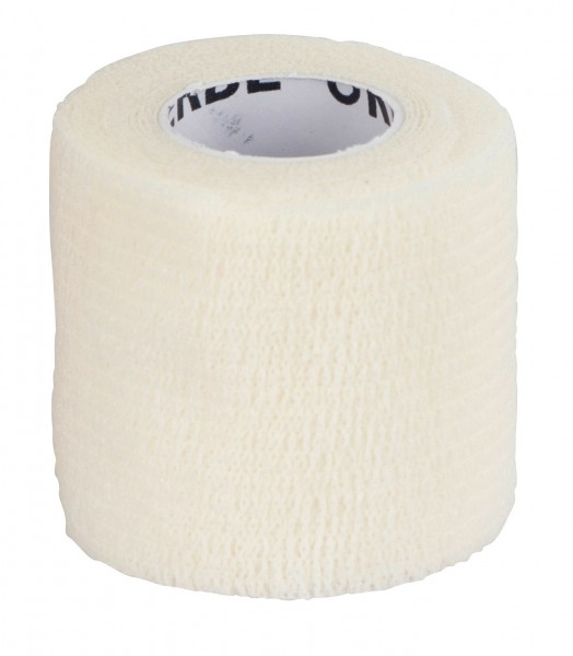Selbsthaftende Bandage EquiLastic weiß, 5 cm