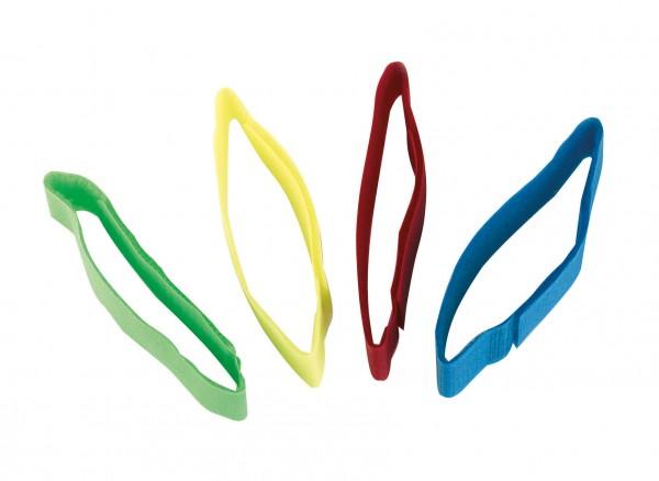 Fessel-Markierungsband mit Klettverschluss in verschiedenen Farben, 10er Packung