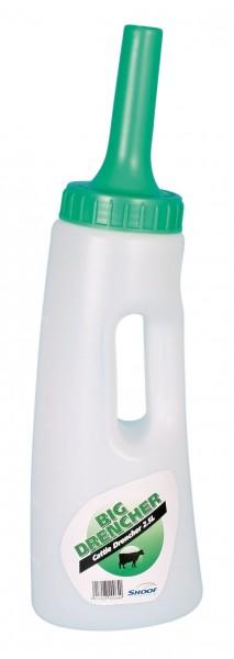 Big Drencher die ideale Eingabeflasche für Großvieh jetzt in XL-Größe
