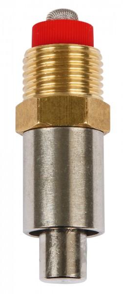Trognippel aus Edelstahl und Messing, 58 mm lang, Typ Brybak