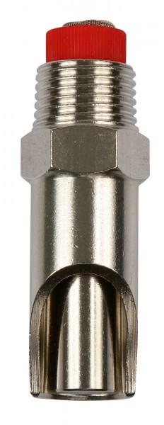 Beißnippel mit dickem Druckkegel, Nippeltränke für Schweine 61 mm Länge
