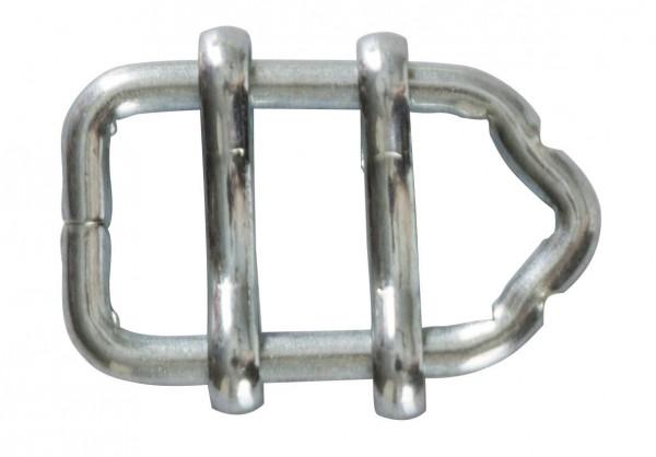 Bandverbinder verzinkt, Verbinder für elektrisches Weidezaunband bis 13 mm Breite