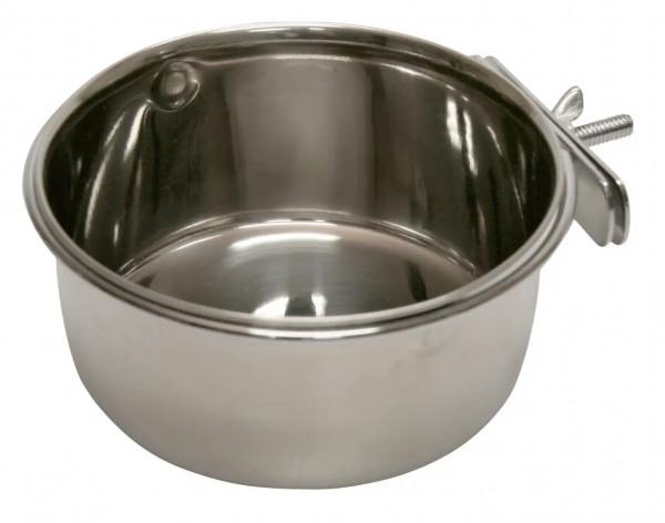 Futter- und Wassernapf mit Schraubbefestigung, passend für alle Drahtkäfige und Drahtställe