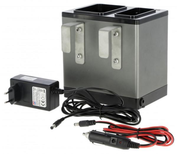 Wärmebehälter HeatBox für die Verwendung von Zweikomponentenkleber im Winter