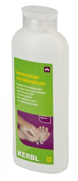 Handreiniger mit Reibekörper in der 500 ml Flasche, Handwaschpaste