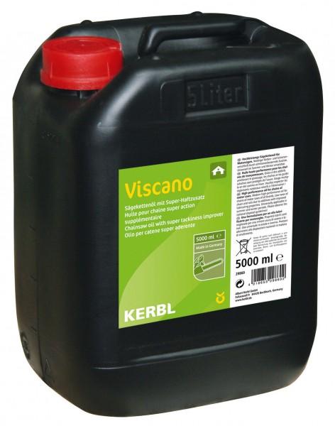 Viscano Kettenöl H für Motorsaegen, Hochleistungs-Kettenoel im 5 Liter Kanister