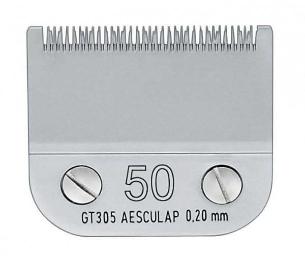 Scherköpfe SnapOn für die Schermaschinen von Aesculap: Scherkopf 50, Schnittlänge 0,2 mm