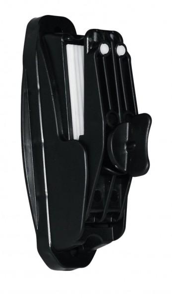 Premium Klemmisolator als Streckenisolator und Bandspanner einsetzbar, patentierter Isolator mit Gummieinlage