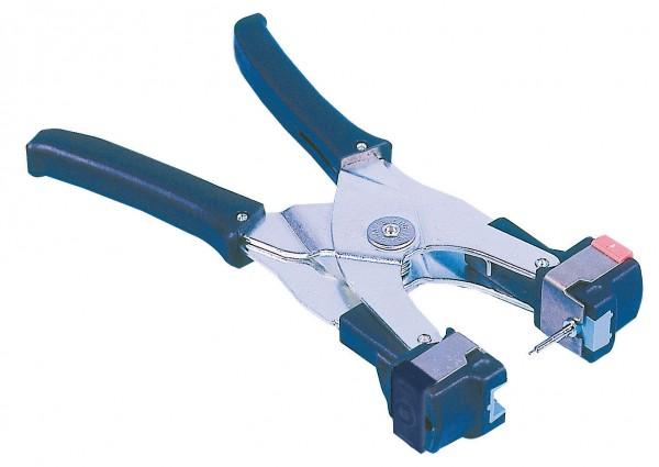 Ohrmarkenzange für AllFlex, Zange mit blauem Einsatz